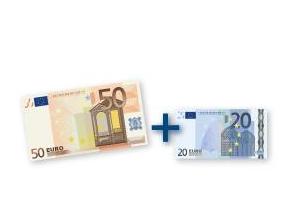 70 Euro Geldprämie